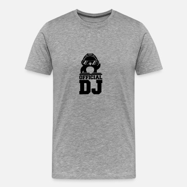 Table De Mixage Table de mixage deejay officiel pingouin - T-shirt Premium Homme
