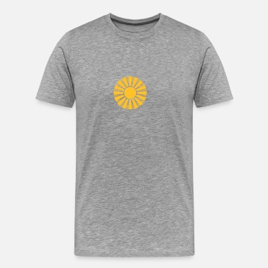 Sun Rays Beautiful sun rays - Men's Premium T-Shirt