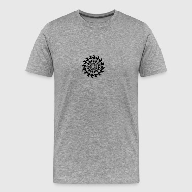 Fire Tattoo Tattoo Sun Blade Fire - Men's Premium T-Shirt