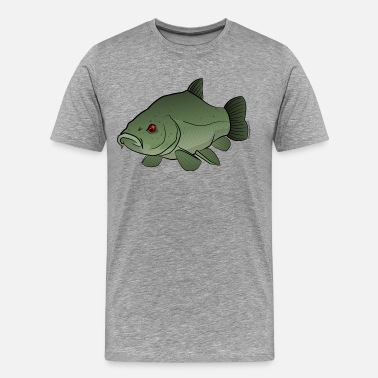 Tench Fishing Red River: Tench - Men's Premium T-Shirt