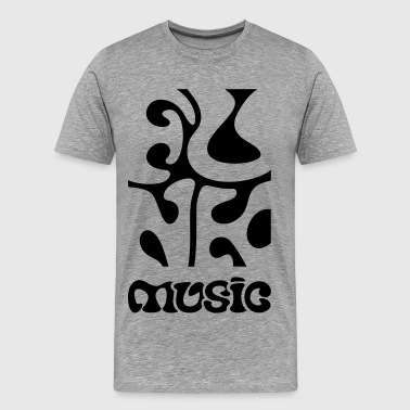 funky Funk Music  - Men's Premium T-Shirt