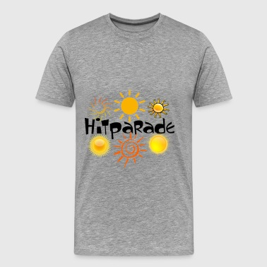hit-parade - Premium T-skjorte for menn