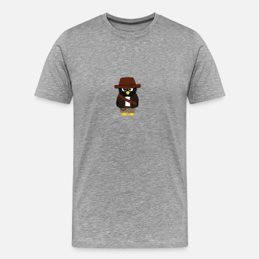 Indiana Jones Pingouin Indiana - T-shirt Premium Homme