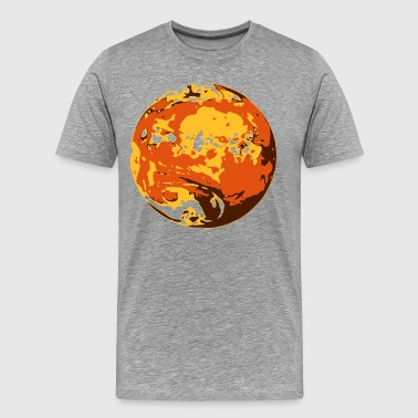 Erde Earth Planet Space - Männer Premium T-Shirt
