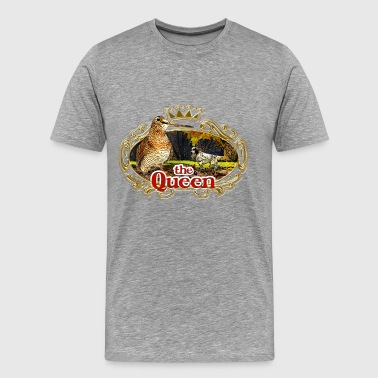Woodcock queen_woodcock - Camiseta premium hombre