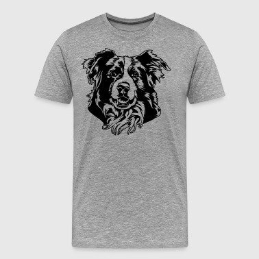 Border Collie - Männer Premium T-Shirt