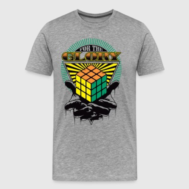 Rubik's For The Glory - Mannen Premium T-shirt