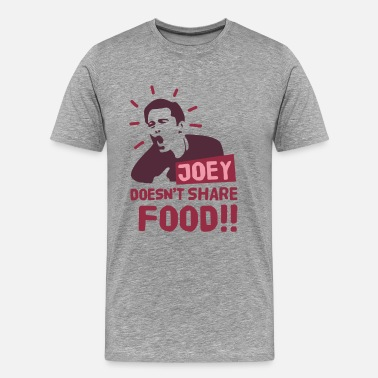 Joey Joey-doesnt-share-food-rood - Mannen Premium T-shirt