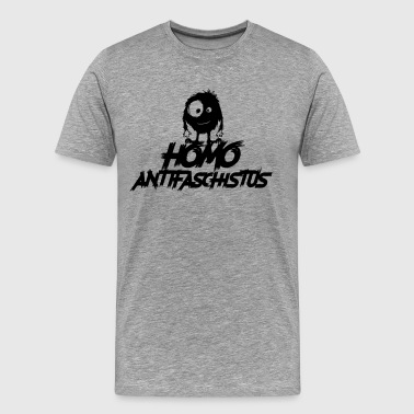 Homo antifasciste - monstre antifasciste - T-shirt Premium Homme