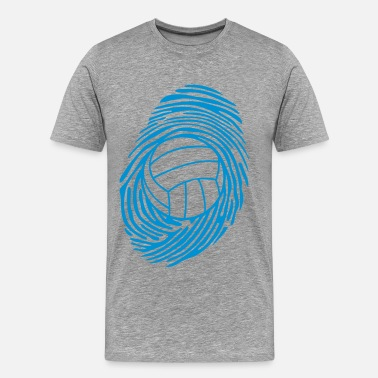 Waterpolo volleyball waterpolo empreinte digitale - T-shirt Premium Homme