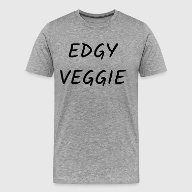 Irritabel Edgy Veggie - Premium T-skjorte for menn