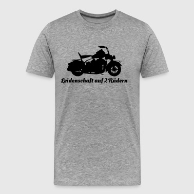 The Chive Passion on 2 wheels - Men's Premium T-Shirt