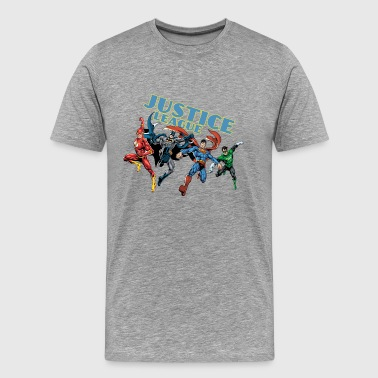 Justice League Character Mix - Herre premium T-shirt