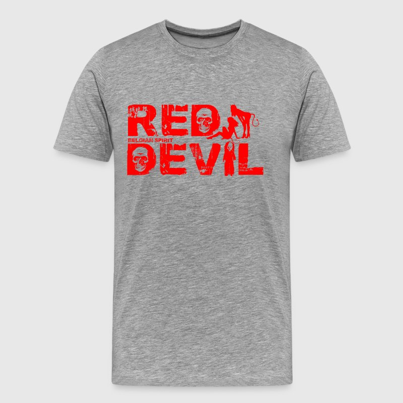 BELGIAN-RED-DEVIL - T-shirt Premium Homme