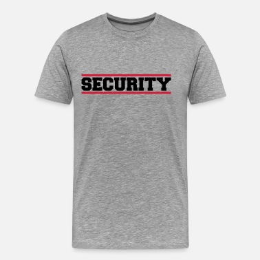 Security Security - Maglietta Premium da uomo