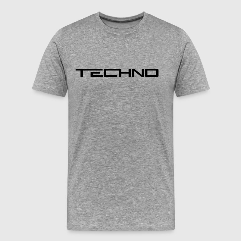 Techno Logo - Men's Premium T-Shirt