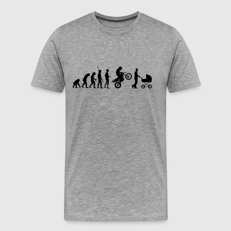 Evolution Enduro mit Kinderwagen - Männer Premium T-Shirt