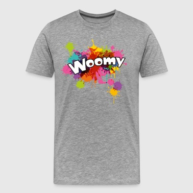 Woomy Squid - Männer Premium T-Shirt