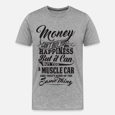 Muscle Car MONEY AND MUSCLE CAR B - T-shirt Premium Homme