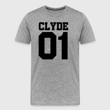 Clyde 01, Partnershirt, Partnerlook - Männer Premium T-Shirt