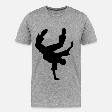 Moves Break dance danza Moves Freeze Breakdancer  - Maglietta Premium da uomo