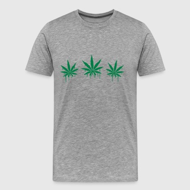 Weed Graffiti - Men's Premium T-Shirt