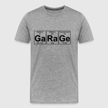 Ga-Ra-Ge (garage) - Full - Men's Premium T-Shirt