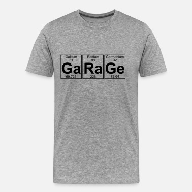 Uk Garage Ga-Ra-Ge (garage) - Full - Men's Premium T-Shirt