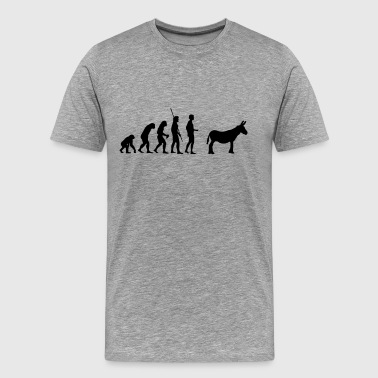 Donkey evolution ass - Men's Premium T-Shirt