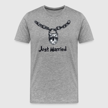 Just Married Just Married - Men's Premium T-Shirt