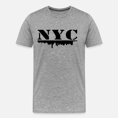 Nyc NYC - Premium T-skjorte for menn