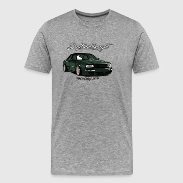 Built not bought - Cult Car Clothing - Men's Premium T-Shirt