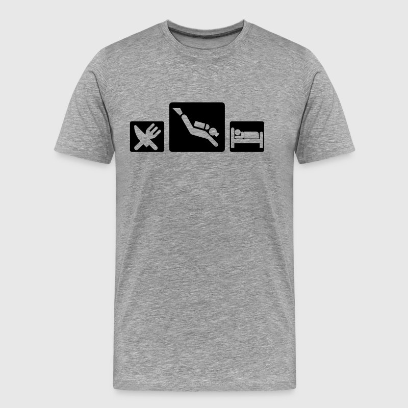 Eat sleep dive - Men's Premium T-Shirt