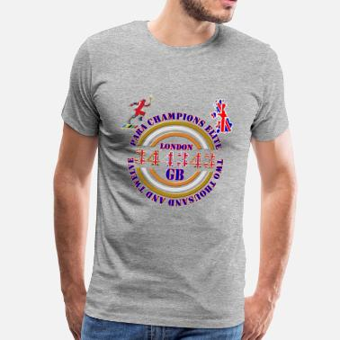 Gb Souvenir Para Champions Elite GB - Men's Premium T-Shirt