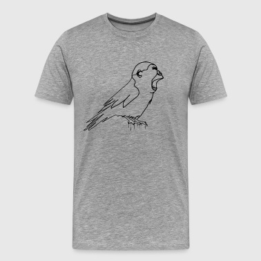 Gorilla Bird Bird - Men's Premium T-Shirt