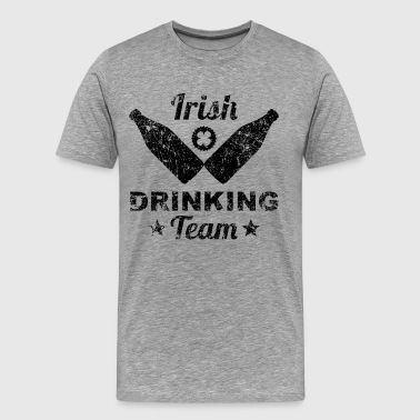 Irish Drinking Team Party Bere Irlanda Regalo - Maglietta Premium da uomo