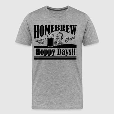 Hoppy Days - Men's Premium T-Shirt