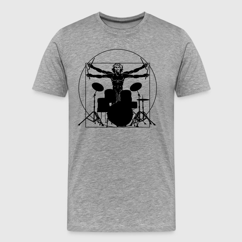 Da Vinci drums - Men's Premium T-Shirt