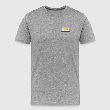 cigarette pocket - Men's Premium T-Shirt