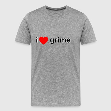 I Love Grime DJ - Men's Premium T-Shirt
