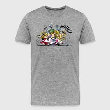 Asterix & Obelix Teenager Women's T-Shirt - Men's Premium T-Shirt