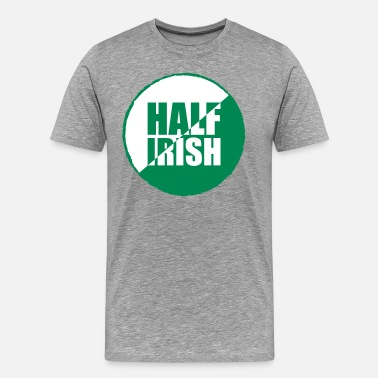 Half Irish Half irish - Men's Premium T-Shirt