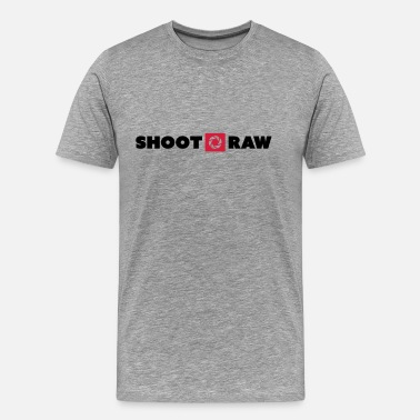 Shoot Raw shoot raw - Männer Premium T-Shirt