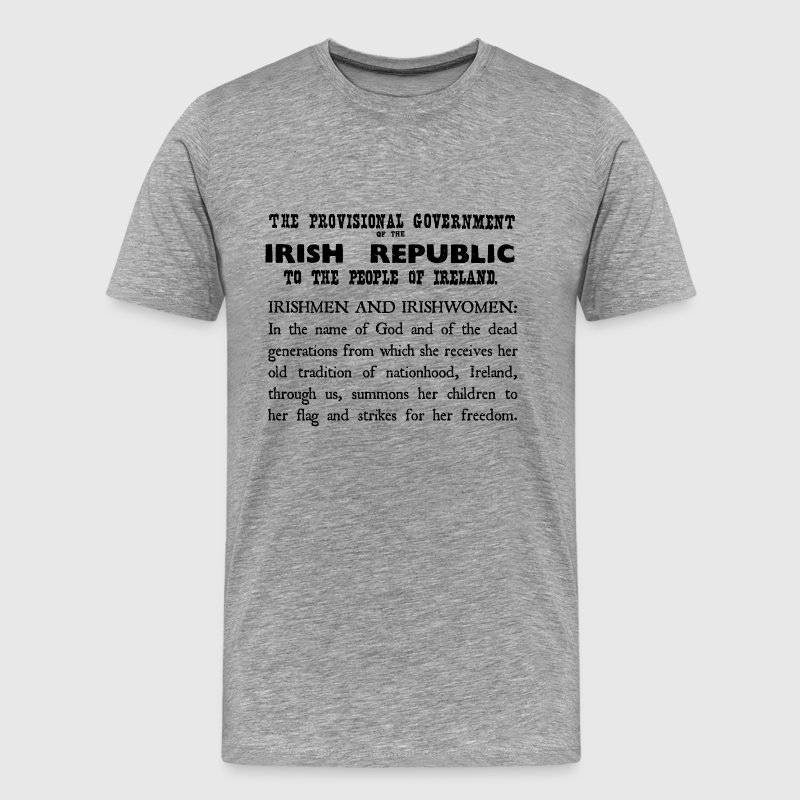 Irish Proclamation - Men's Premium T-Shirt