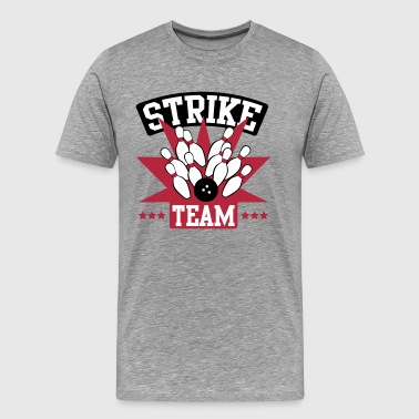 Bowling Bowling Strike Team - Men's Premium T-Shirt