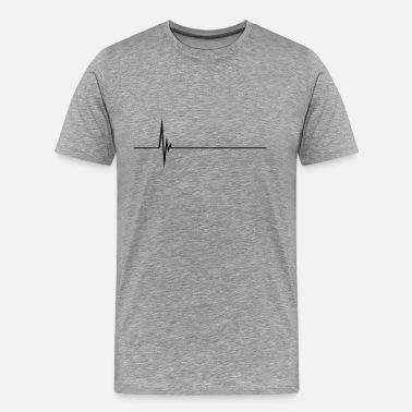 Pulse Heartbeat Pulse Heartbeat - Men's Premium T-Shirt