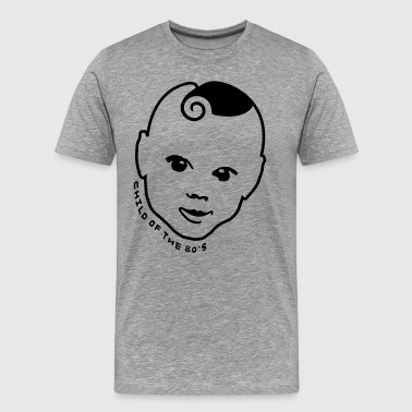 80s T-Shirt ✫ Child of the 80s ✫ - Men's Premium T-Shirt