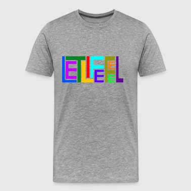 let life feel - Men's Premium T-Shirt