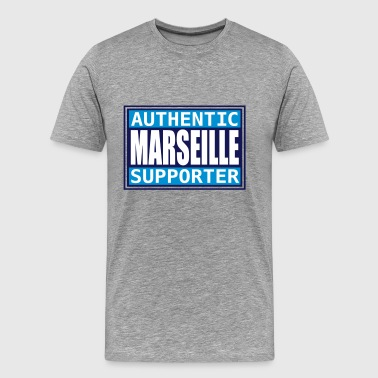 Authentic Marseille supporter - T-shirt Premium Homme