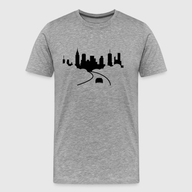 city - Men's Premium T-Shirt